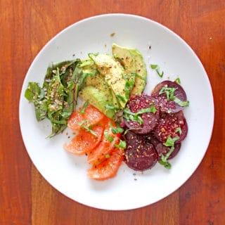 Beet, Citrus and Avocado Salad – A colorful salad