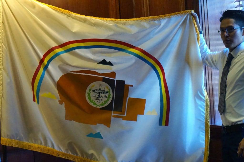 tribal flag