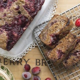 Cranberry Sauce Sticky Bread + a turkey of a tale