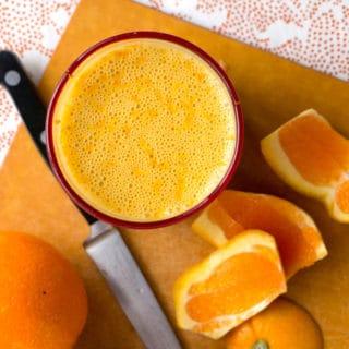 Cara Cara Orange Creamsicle Smoothie