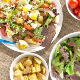 Breakfast Salad with Eggs & Potatoes