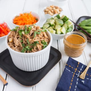 Cashew Noodle Salad with Fresh Veggies