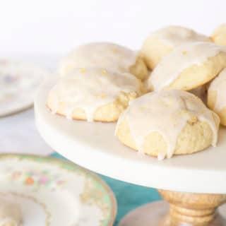 Very Vanilla Bean Cookies