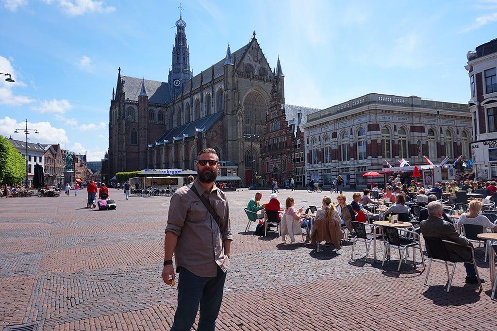 Haarlem Netherlands Main Square