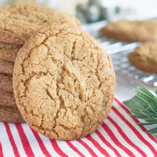 Gingersnaps | Soft & Chewy or Crisp & Crunchy