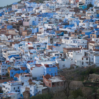 Traveling & Eating: Chefchaouen & Moroccan Honey Toast
