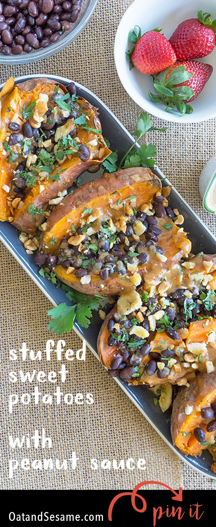 Roasted Sweet Potatoes Two Ways