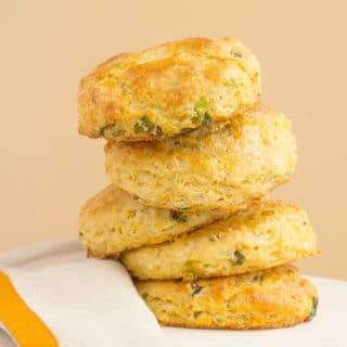 White Cheddar Chipotle Cornmeal Biscuits