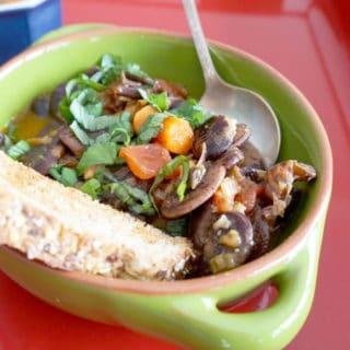 Giant Bean Soup: the christmas lima
