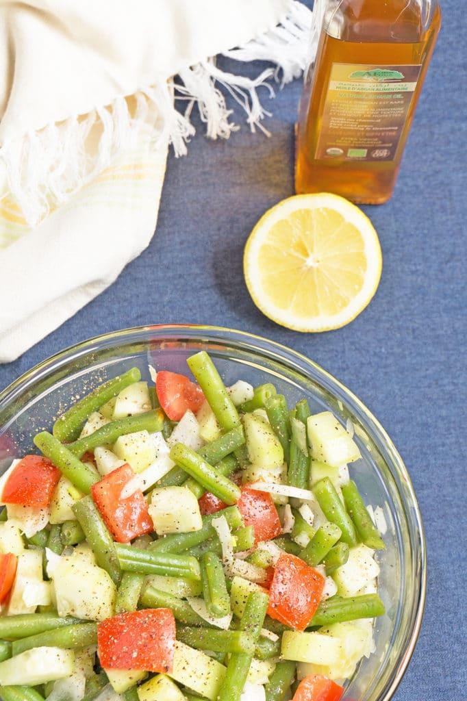 Simple Moroccan Salad