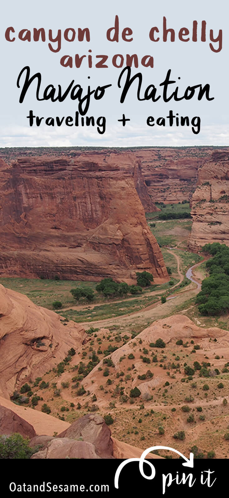 Traveling + Eating Arizona - hiking and cultural adventures in the Navajo Nation including Canyon de Chelly + Hands on fry bread! | #ARIZONA | #NAVAJO | #WINDOWROCK | #CANYONdeCHELLY | #FRYBREAD | #Recipes at OatandSesame.com