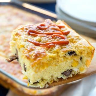 Easy Southwest Breakfast Casserole