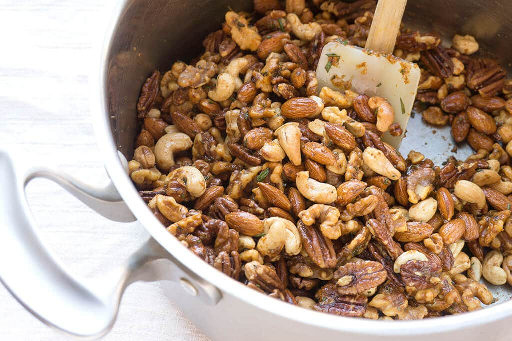 Mixing Nuts with Coating