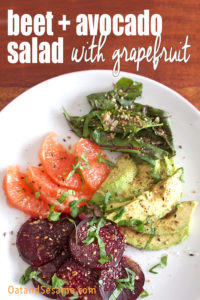 Avocado and Grapefruit Salad » That's so Michelle