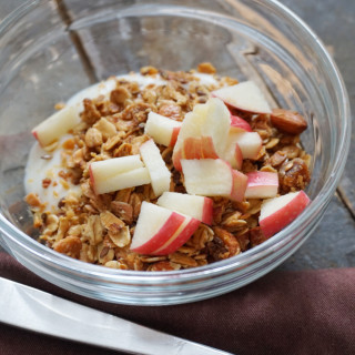 Almond, Flax and Fruit Granola