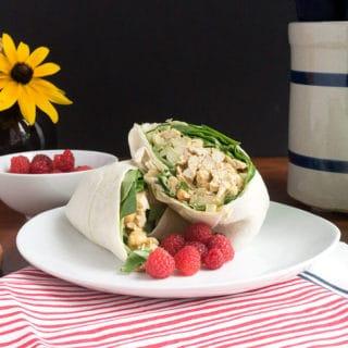 Curried Chicken Salad Wraps