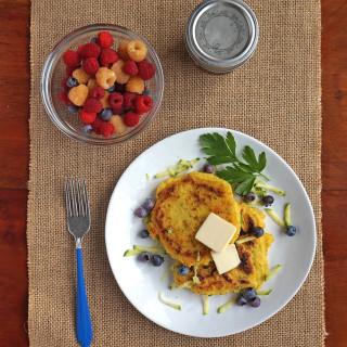 Zucchini Griddlecakes recipe