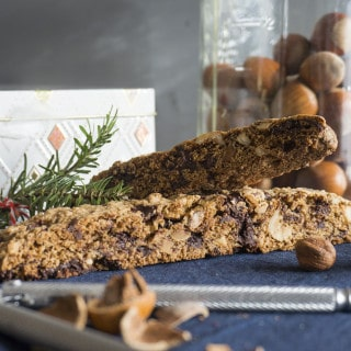 recipe for chocolate hazelnut biscotti