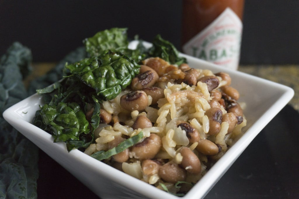 Hoppin' John close up