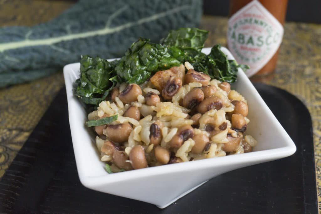 hoppin john in bowl