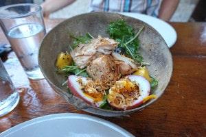 mexico travel smoked fish salad