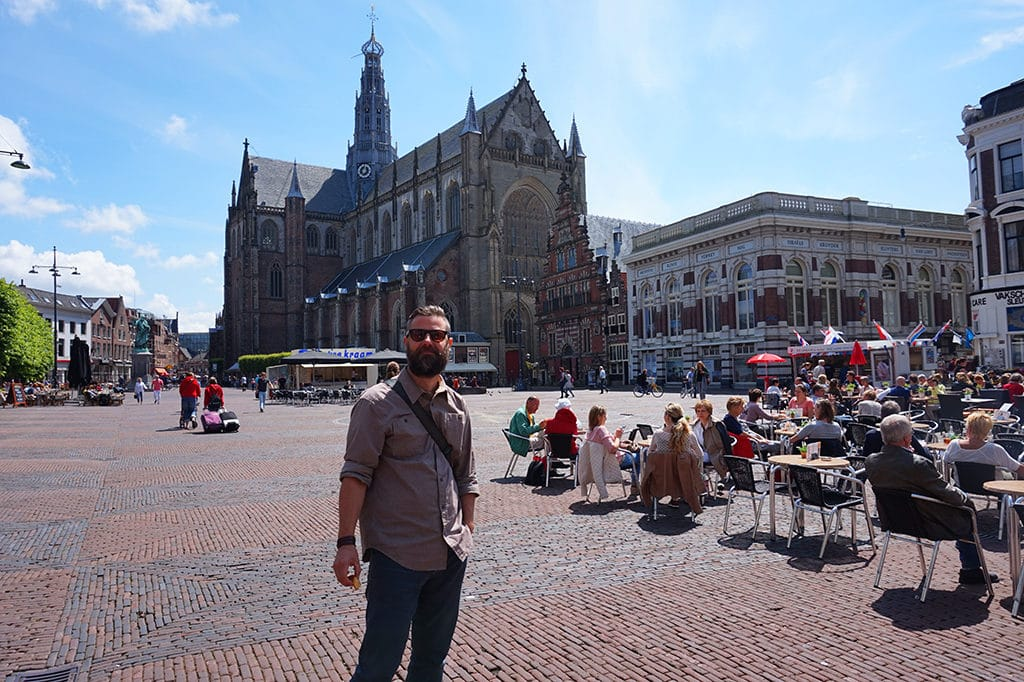 Haarlem Netherlands Main Square