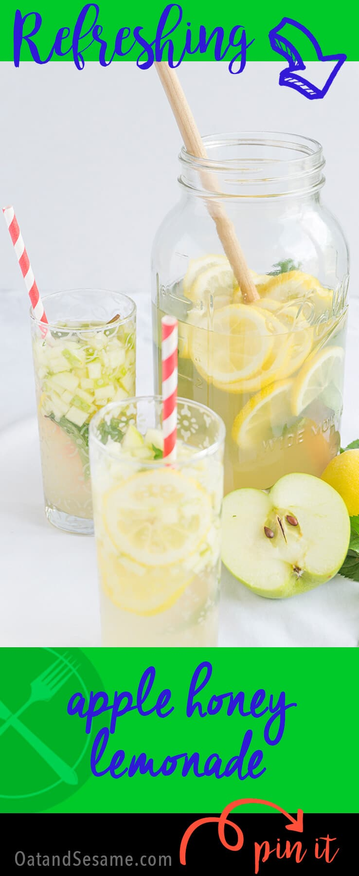 Apple Honey Lemonade Recipe + Prague Travel Post