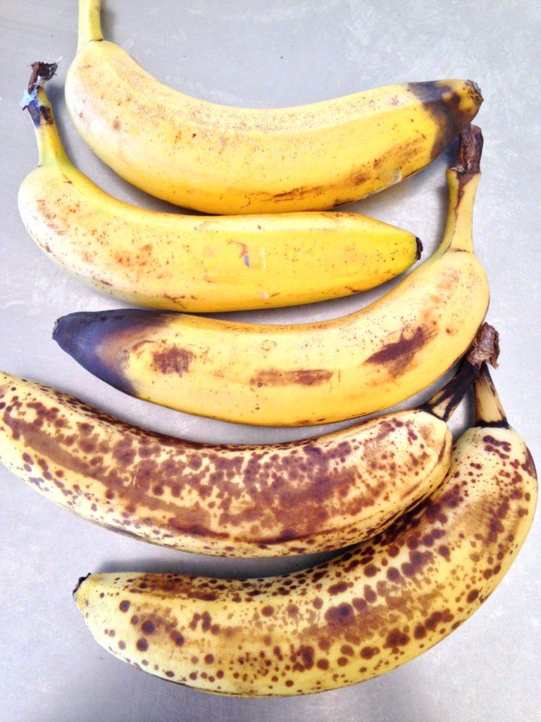 really ripe bananas