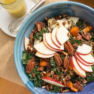 Apple and Wild Rice Salad