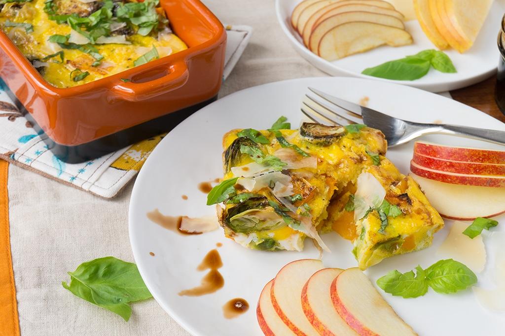 Fall Vegetable Egg Casserole