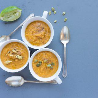 Creamy Thai Sweet Potato Soup