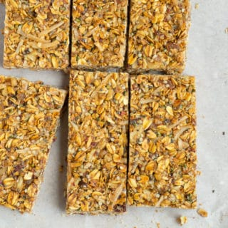 Strawberry Ginger Granola Bar