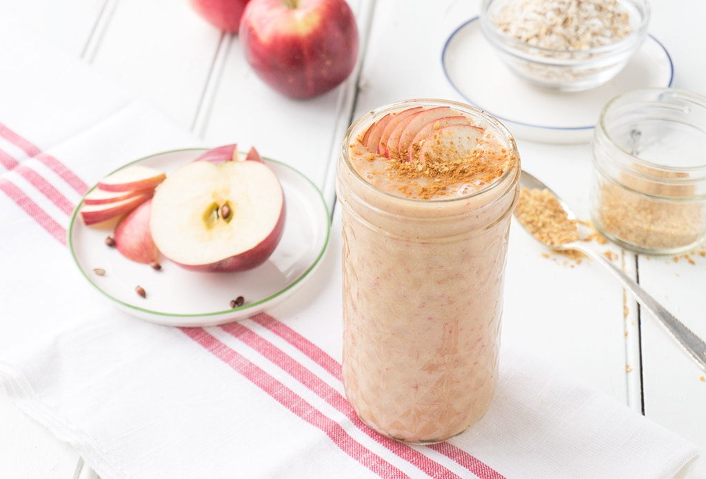 Apple Oat Smoothie