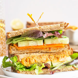Roasted Chickpea Sandwich Spread