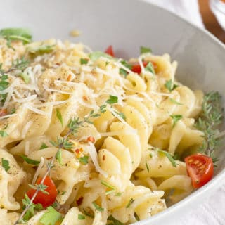 Roasted Garlic Pasta