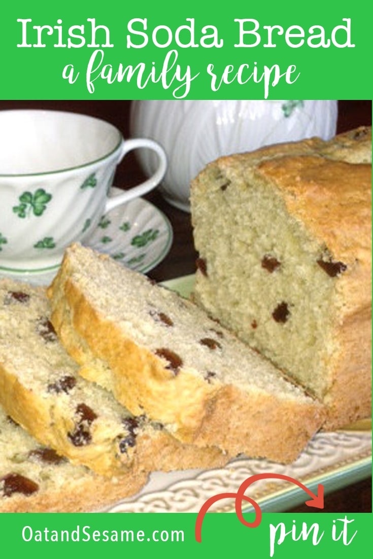 Loaf of Irish soda Bread