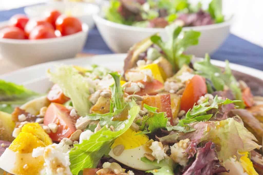Breakfast Salad close up
