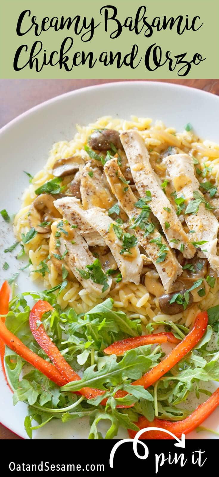 Chicken and Mushroom Pasta