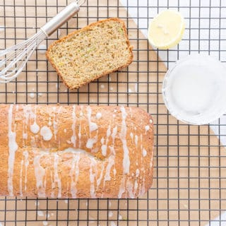 Lemon Poppyseed Zucchini Bread
