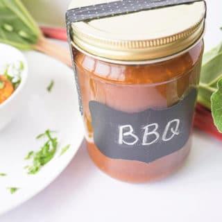 Rhubarb BBQ Sauce