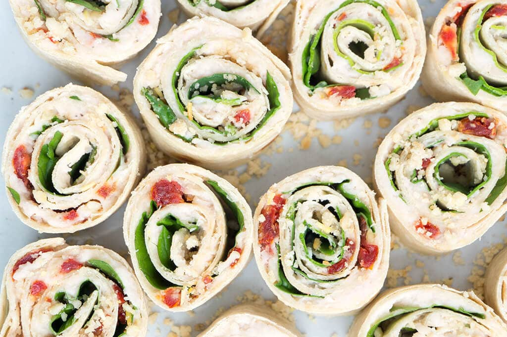 Pin Wheels Cream Cheese Appetizer Recipes