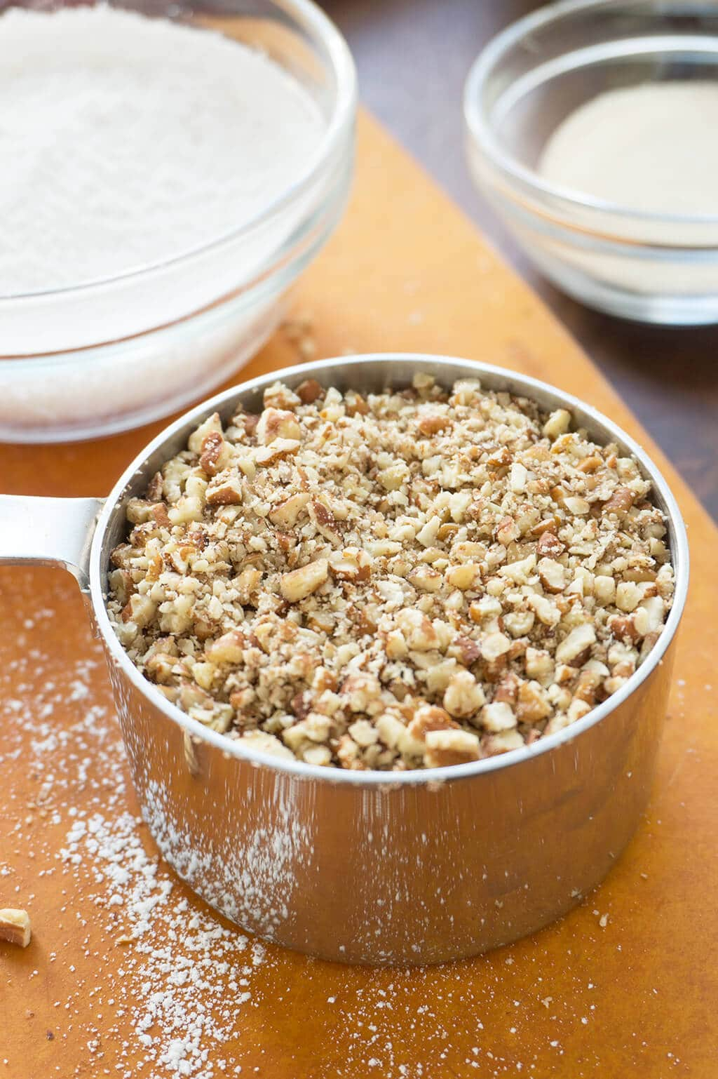 finely chopped pecans
