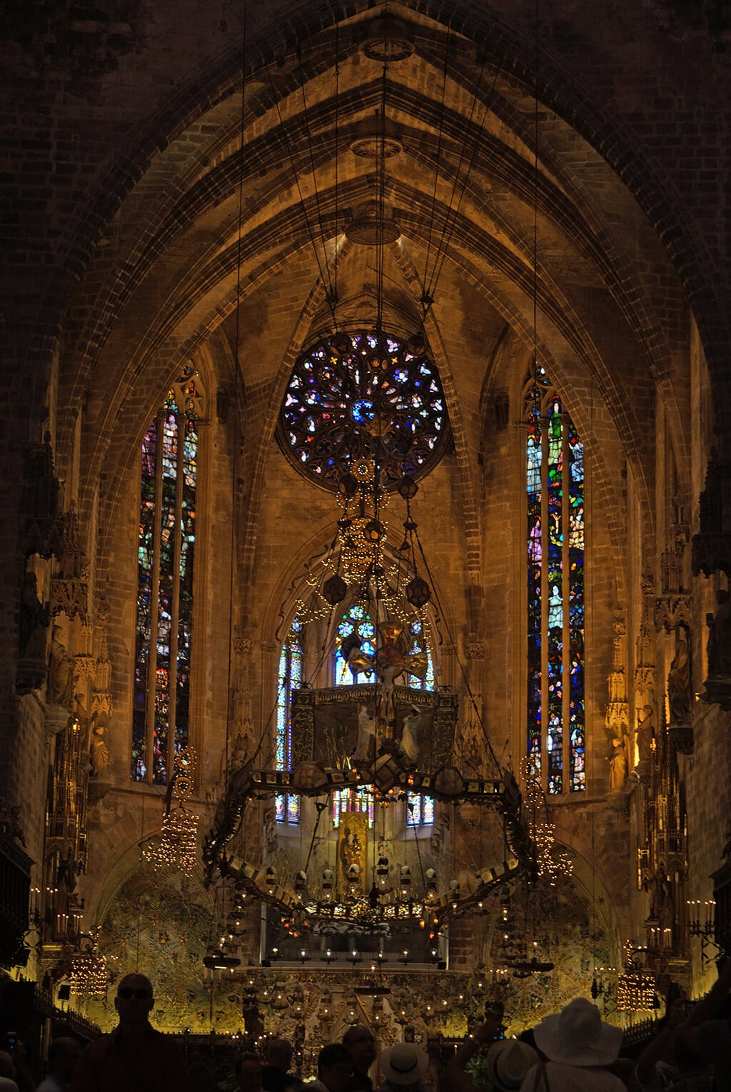 Palma Cathedral interior