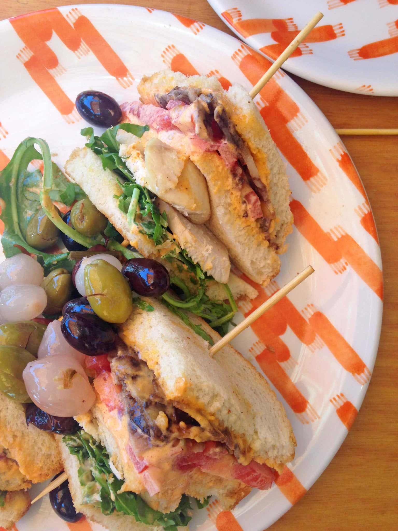 Sandwich at Rebost