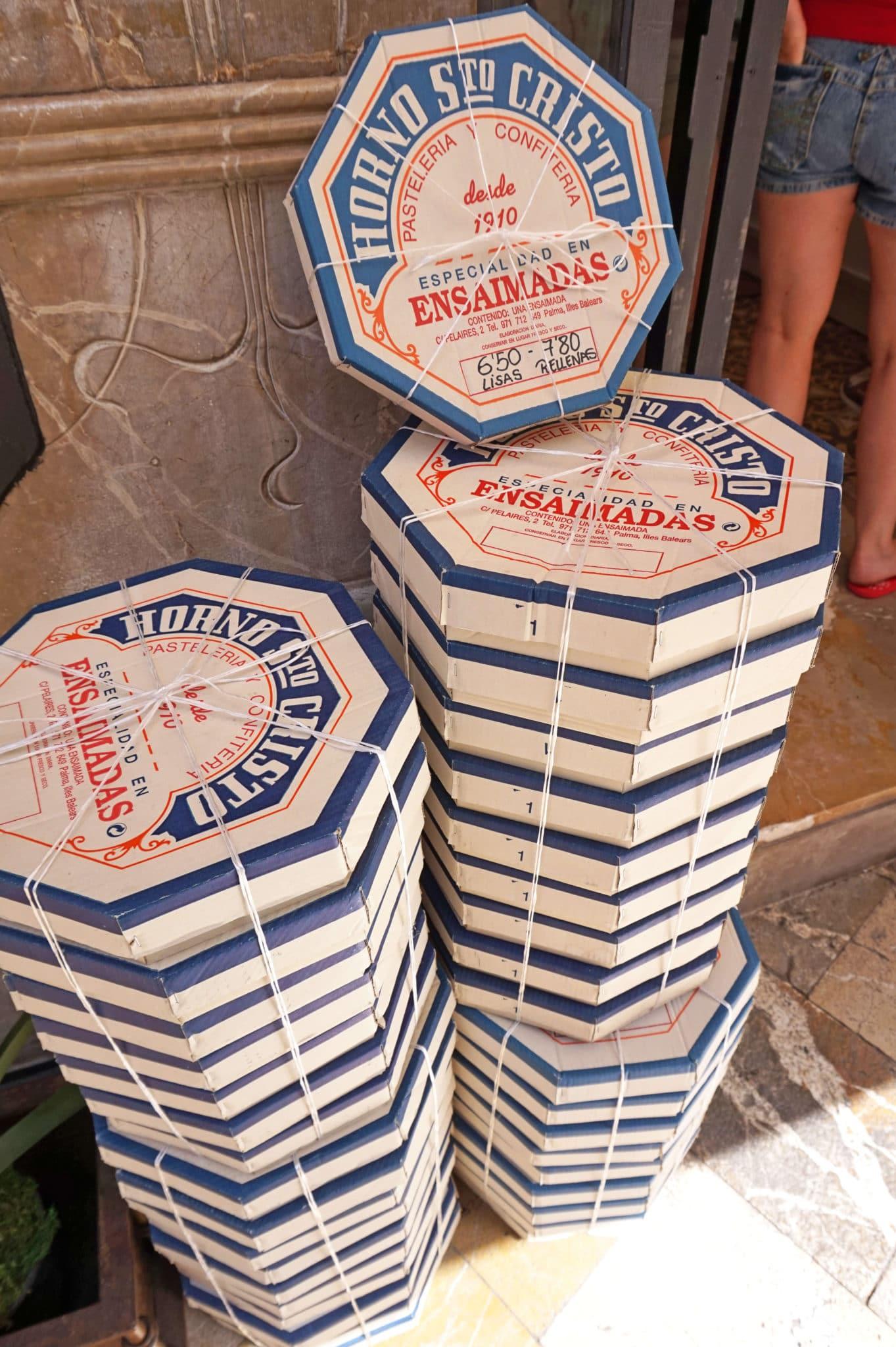 Ensaimada Boxes