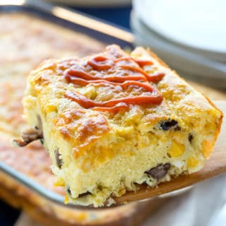 Easy Southwest Breakfast Casserole
