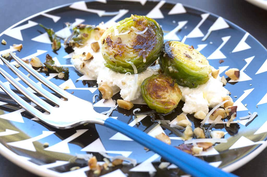 brussels sprouts with ricotta