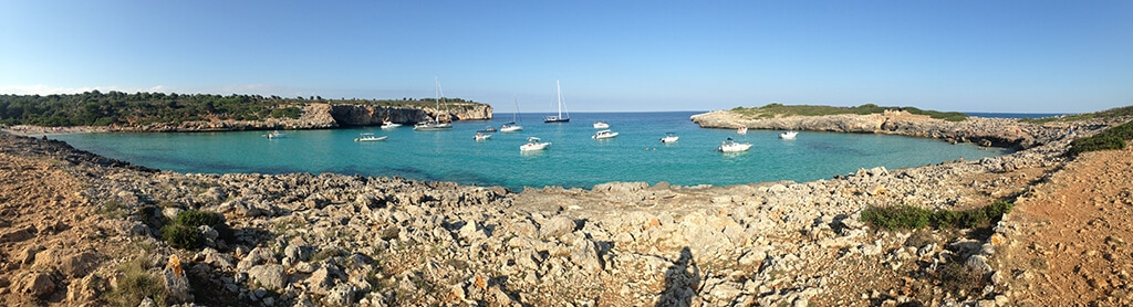 Panaroma of Cala Varques