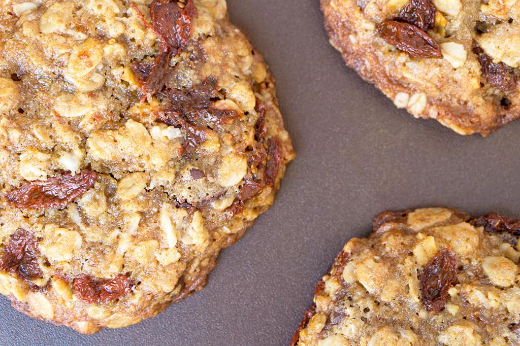 Oatmeal Cookies overhead