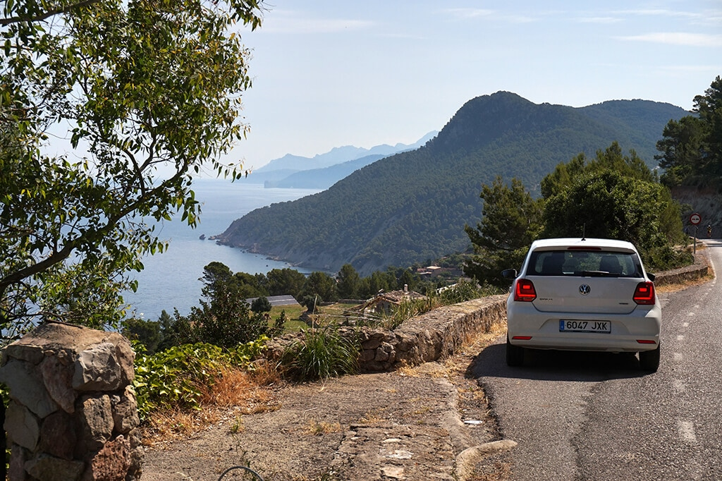 Coastal road Mallorca